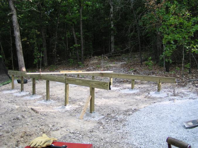 In the sticks for How to build a post and pier foundation